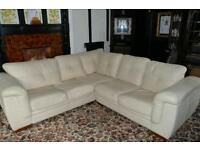 Wanted. Leather corner sofa