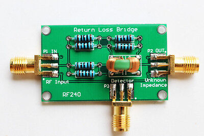 New Rf240 1-500mhz Return Loss Bridge