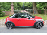 "61 PLATE MINI 1.6 COOPER COUPE 1 PREV OWN 17,253 MILES 18"" ALLOYS MEDIA"