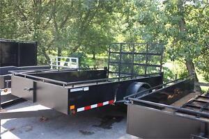 6x10 Canada Trailer Steel Side Utility Trailer