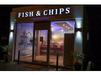 Experienced Fish Fryer for Modern Fish & Chip shop in Blandford Forum, Dorset
