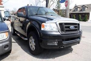 2005 FORD F-150 KING RANCH 2005 PROPRE  4X4 CUIR CHAUSSÉ HIVER