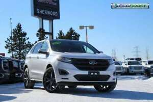 2018 Ford Edge Sport AWD| Sun| Nav| H/C Suede| Adpt Cruise| 21s|