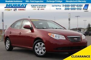 2010 Hyundai Elantra GL FWD*HEATED SEATS,AIR CONDITIONING*