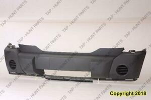 Bumper Front Textured Without Fog CAPA Dodge Nitro 2007-2009