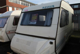 Adria Optima 470 1993 4 Berth Caravan £2400