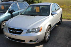 Recently Traded 2007 Hyundai Sonata Limited