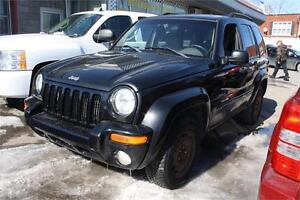 2004 JEEP LIBERTY 4X4 LIMITED GARANTIE 12 MOIS