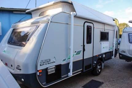 2016 Jurgens Jindabyne - ONLY $41,890 This Caravan Only. $3K OFF