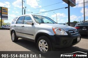 2006 Honda CR-V EX |6-CD CHANGER|PWR LOCKS & WINDOWS|A/C|AWD
