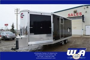 ALL ALUMINUM ENCLOSED SNOWMOBILE & TRI-SPORT MODELS-CLEARANCE!
