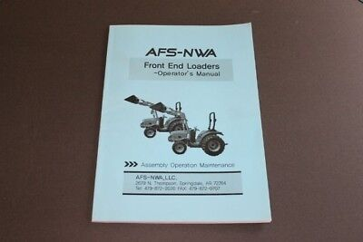 Afs-nwa Front End Loaders Operators Manual.