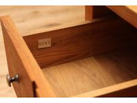 NEXT wooden living room coffee table /storage cabinet