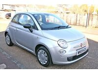 2009 FIAT 500 POP EDITION ONLY 52K MILE, NEW MOT, LOVELY CAR,