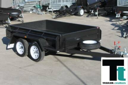 "8x5 Tandem Trailer - 1990kg GVM - Checker Plate Floor - 15"" Sides Thomastown Whittlesea Area Preview"