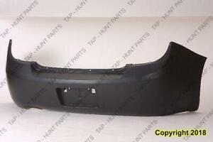 Bumper Rear Primed Sedan Ltz/Sport/Ss Model CAPA Chevrolet Cobalt 2005-2010