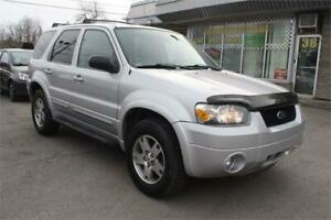 2005 FORD ESCAPE LIMITED 4WD GARANTIE 12 MOIS