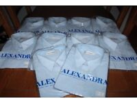 Brand New & Sealed Gents Pale Blue Short Sleeve Shirts