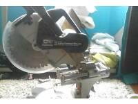 Sip 12 inch sliding compound mitre saw.