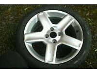 Genuine peugeot 307 17 challenger alloy wheel 206 306 etc spare single