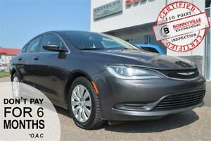 2015 Chrysler 200 LX- 95,000 KMS, GREAT COMMUTER CAR