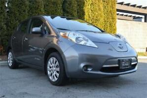 2016 Nissan Leaf S w/Quick Charge/Backup Cam/No Accidents