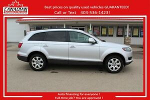 2007 Audi Q7 AWD 7 PASSENGER LOADED FINANCING FOR ALL!