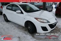 2010 Mazda3 GX 5 spd manual 4 dr with winters CLEARANCE $7495 Winnipeg Manitoba Preview