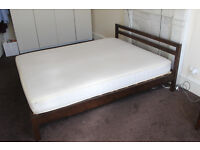 Muji Large Double Bedframe, very good condition