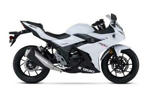 2018 GSXR250RL8 NEW BIKE SAVE 2000.00  BLOWOUT 2999.00