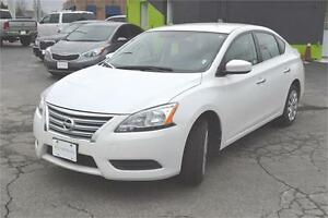 2015 Nissan Sentra S 6MT ::: $45 a week ::: QUICK LOAN APPROVALS