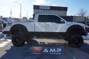 2010 Ford F-150 Lariat Crazy Lift Nice wheels Leather Stereo 4x4