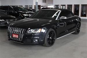 2010 Audi S5 S5 CONVERTABLE! NAVIGATION! PUSH START