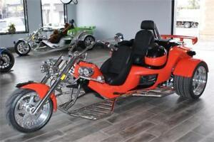 2018 Rewaco RF2 LT-2 Tour Back Turbo 7-Speed Automatic Trike