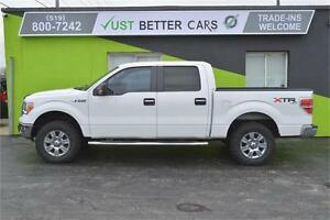 2012 Ford F-150 XLT SuperCrew 5.5-ft. Bed 4WD, 2 YEAR WARRANTY