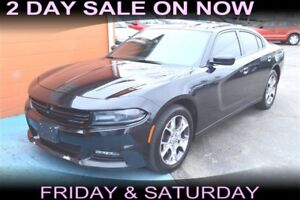 2016 Dodge Charger SXT AWD, SUNROOF, 19 INCH WHEELS, $90 a Week