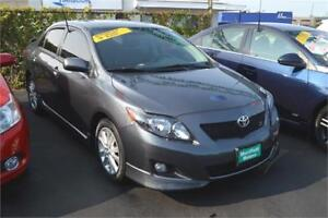 2010 Toyota Corolla AT has 12 MONTH WARRANTY!