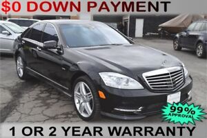 2012 Mercedes-Benz S-Class S550 4-MATIC, Weekly Payments of $99