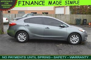 2015 Kia Forte EX -- $35 a week -- QUICK FINANCE APPROVAL!