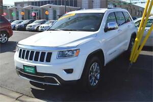 2014 Jeep Grand Cherokee Limited 4WD - SUNROOF, LEATHER, LOADED