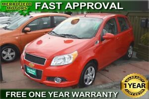 2011 Chevrolet Aveo LS - ONE YEAR WARRANTY INCLUDED