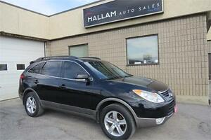 2012 Hyundai Veracruz GLS, 7 Passenger, Blk Leather Interior,AWD