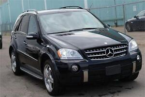 Mercedes ML63 AMG LOW KM, FULLYLOADED, FULLY SERVICED,MINT