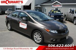 2012 Honda Civic Sdn EX! SUNROOF!