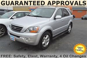 2007 KIA Sorento LX Luxury - SUNROOF - LEATHER