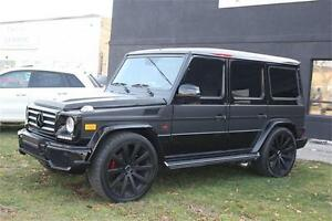 2007 Mercedes-Benz G-Class G55/G63 CONVERSION/24 WHEELS/NAV/HEAT