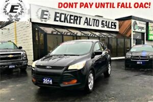 2014 Ford Escape S WITH REVERSE CAMERA/BLUETOOTH