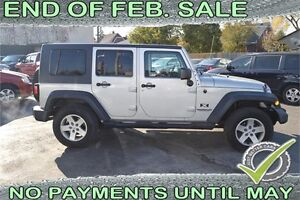 2007 Jeep Wrangler Unlimited X 4WD - CONVERTIBLE