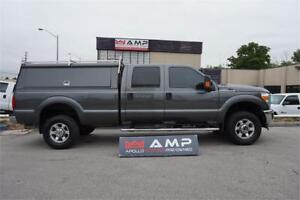 2015 Ford Super Duty F-250 XLT 4X4 GAS 6.2L WITH TOPPER, ALLOYS.