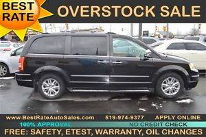 2010 Chrysler Town & Country Limited, LEATHER SEATS, POWER DOORS